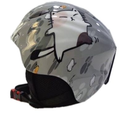 Blizzard – Ski Helmet  Magnum grey cat  shiny junior