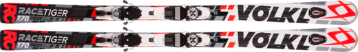 Völkl Racetiger RC UVO White red + X-Motion 12.0 D 16/17 160cm