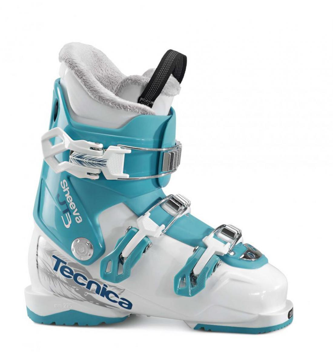 Tecnica JT 3 Sheeva 17/18, white/blue bird