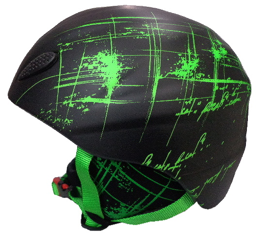 Blizzard - Ski Helmet  Stroke black/green matt