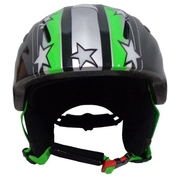 Blizzard – Ski Helmet  Magnum green star shiny junior