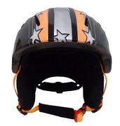 Blizzard – Ski Helmet  Magnum orange star shiny junior